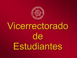 Vicerrectorado de Estudiantes