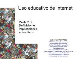 Uso educativos de Internet