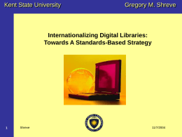 The GREEN Digital Library A Specialized Materials Science