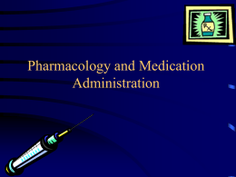 Pharmacology - Chemeketa Community College