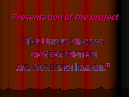 Presentation of the project