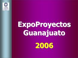 Expo-Proyectos Guanajuato 2003