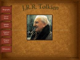 MattSchanilecJ.R.R.Tolkien - West Fargo Public Schools
