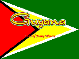 Guyana - City University of New York