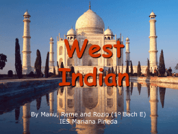 West Indian - Wikispaces