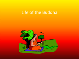 Life of the Buddha - Deans Community High School