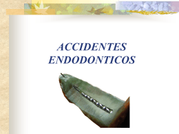 ACCIDENTES ENDODONTICOS - Test Page for Apache …