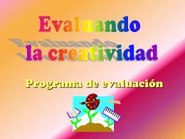 Evaluando la creatividad