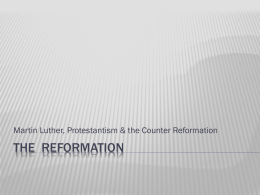 The reformationation