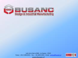 Diapositiva 1 - Bienvenidos a BUSANC