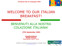 European Day of Languages 2004