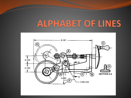 ALPHABET OF LINES - Beavercreek High School