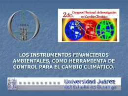 LOS INSTRUMENTOS FINANCIEROS AMBIENTALES, …