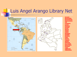 Luis Angel Arango Library Net
