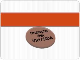 Impacto del VIH/SIDA