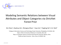 Modeling Semantic Relations between Visual Attributes …
