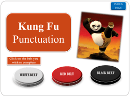 KUNG FU PUNCTUATION - Elmgrove Primary School …