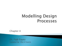 Modelling Design Processes