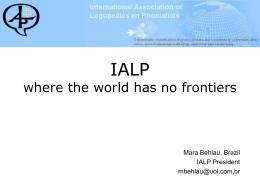 History of IALP