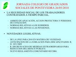 INCAPACIDAD TEMPORAL - Colegio Oficial de Graduados