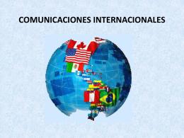 COMUNICACIONES INTERNACIONALES