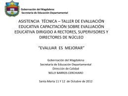 Diapositiva 1 - Sedmagdalena