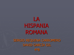 Hispania romana 2010 powerpoint presentation