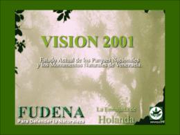 VISION 2001 - Centro de visitantes de Mucubaj&#237