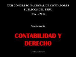 XXII CONGRESO NACIONAL DE CONTADORES PUBLICOS …