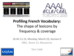 AILA - Compleat Lexical Tutor