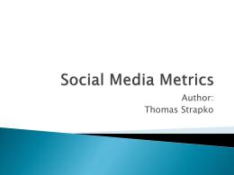 Social Media Metrics - University of Alaska system
