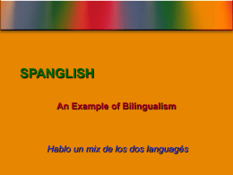 SPANGLISH - University of Tampere