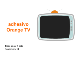 Diapositiva 1 - ::Territorio Orange::