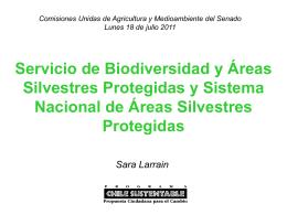Comisiones Unidas de Medioambiente y Agricultura del