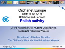 Diapositive 1 - Ministerstwo Zdrowia