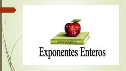EXPONENTES ENTEROS