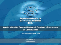 Informe Financiero Empresas Sanitarias Primer Semestre …
