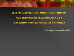 EFECTIVIDAD DEL TRATAMIENTO COMBINADO CON …