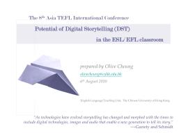 Asia TEFL 2010 Presentation