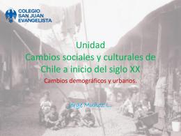 Unidad Cambios sociales y culturales