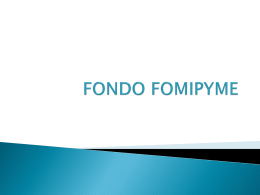 FONDO FOMIPYME