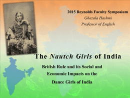 The Nautch Girls of India