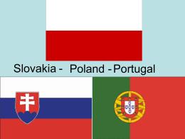 Związki pomiędzy: Słowacją – Polską Polską – Portugalią