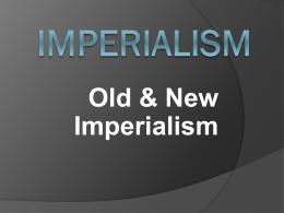 Imperialism - Denton ISD