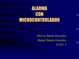 ALARMA CON MICROCONTROLADOR