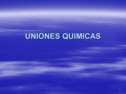 UNIONES QUIMICAS