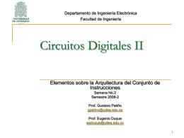 Circuitos Digitales II - SISTEMIC | Grupo de