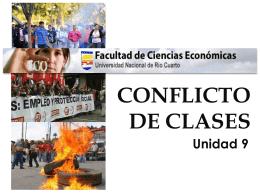 CONFLICTO DE CLASES