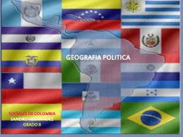 GEOGRAFIA POLITICA