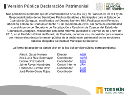 PERFILES DIRECTORES